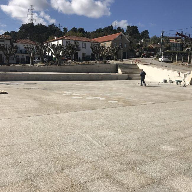 Largo de St. António - Santiago de Piães - Município de Cinfães