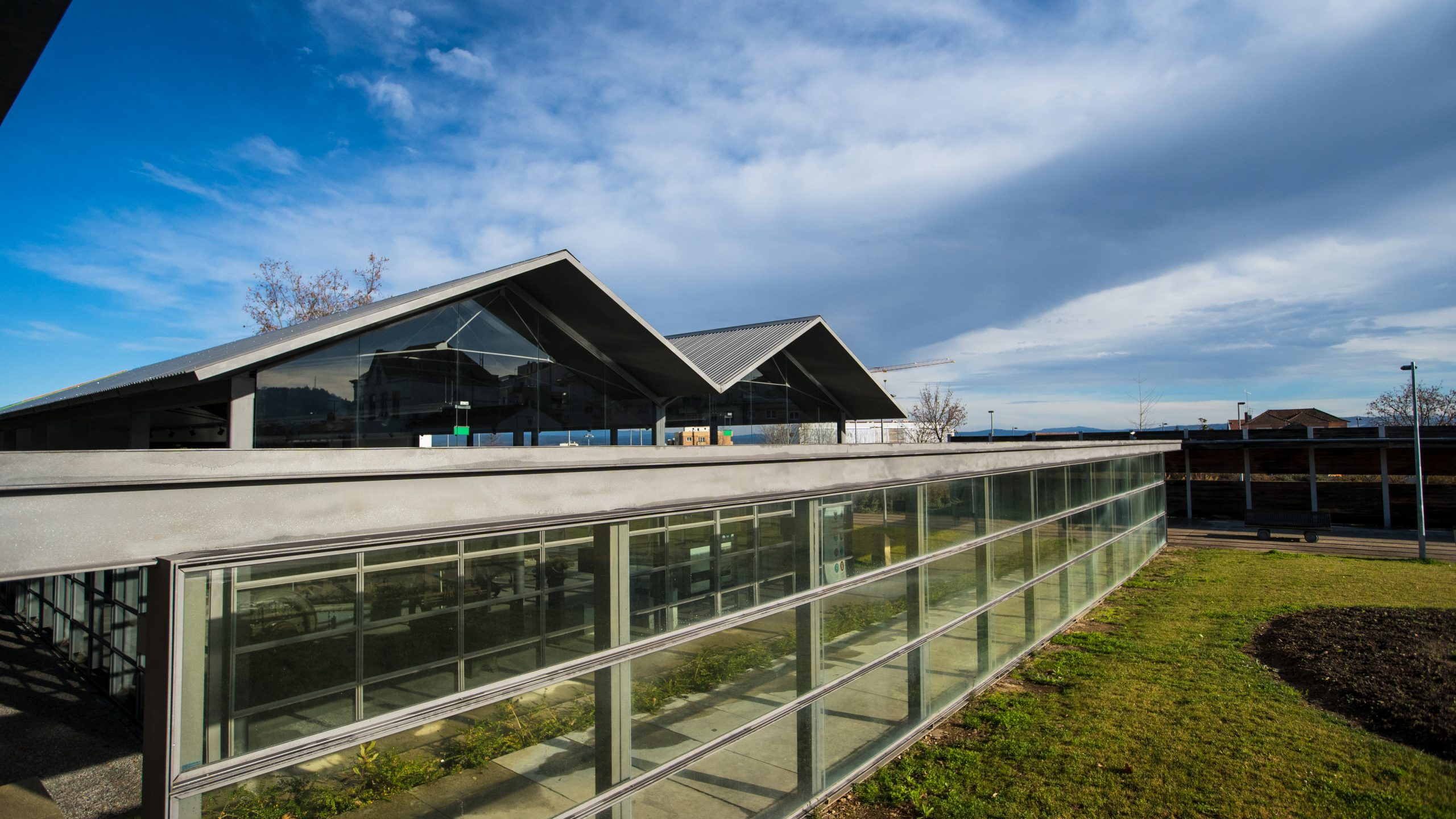 Construção do Núcleo Museológico Ferroviário – Ligação Coberta entre MPR e MPE