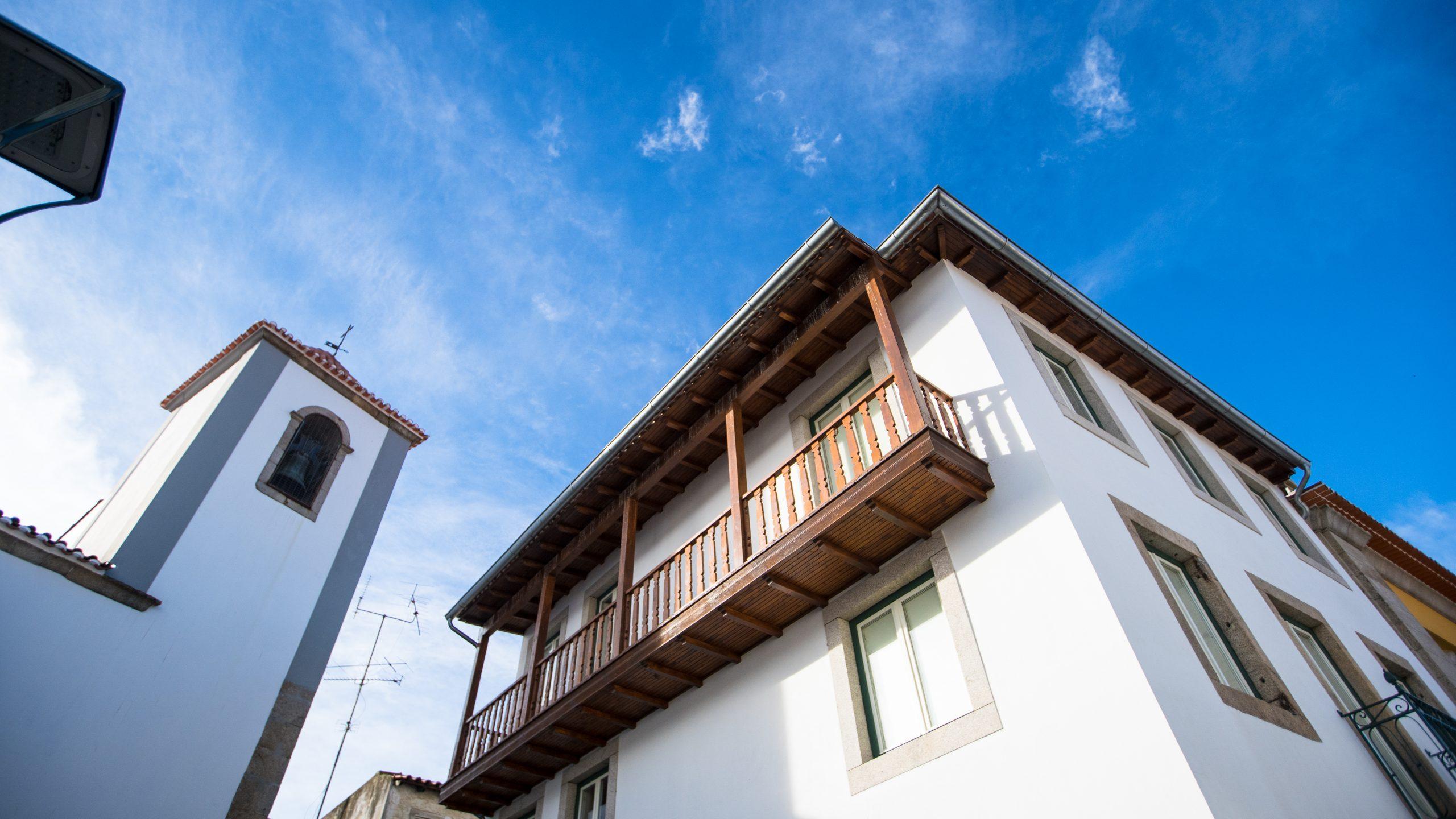 Reconstrução de edifício para residência de estudantes