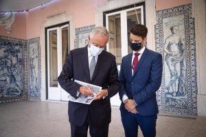 Visita ao Sr. Presidente da Republica por parte de Gonçalo Gonçalves