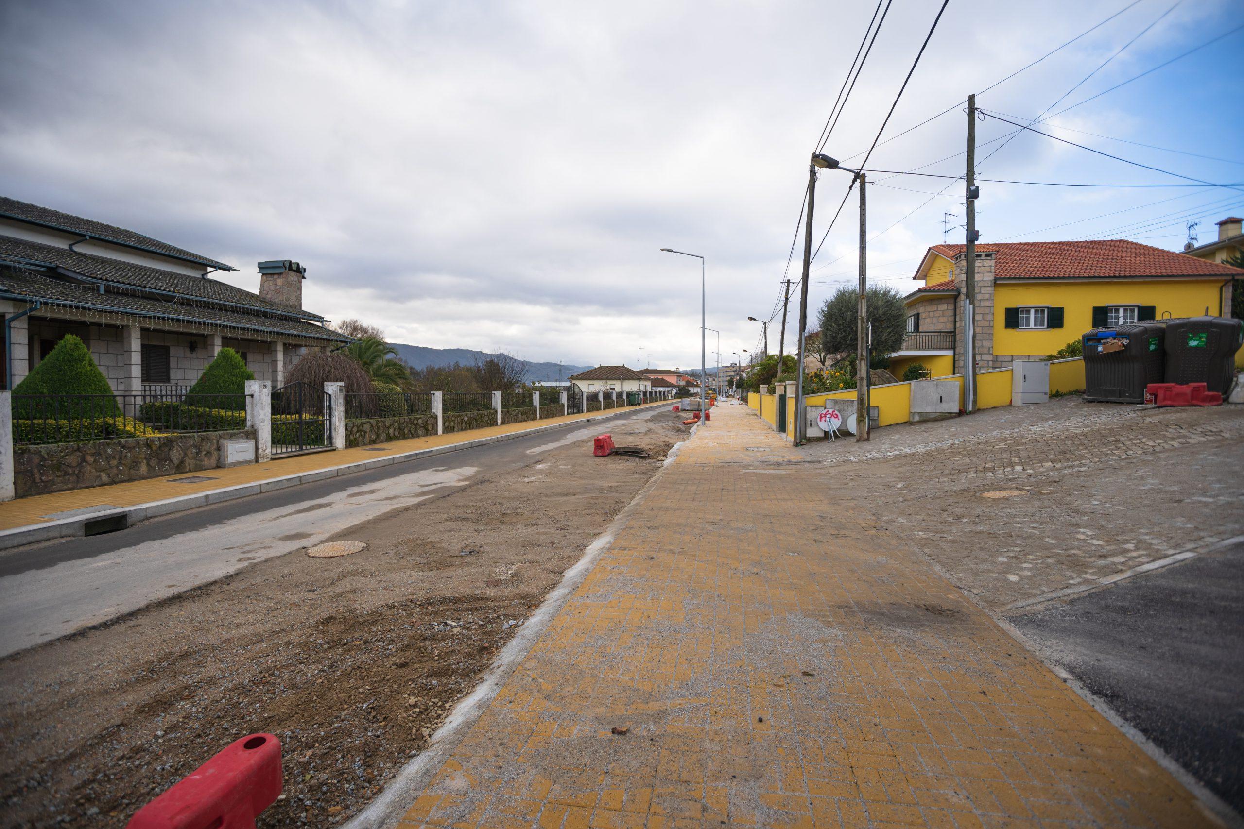 Requalificação de Corredores Urbanos existentes - da Av. Do Tâmega, Av. 5 de Outubro e Rua das Longras