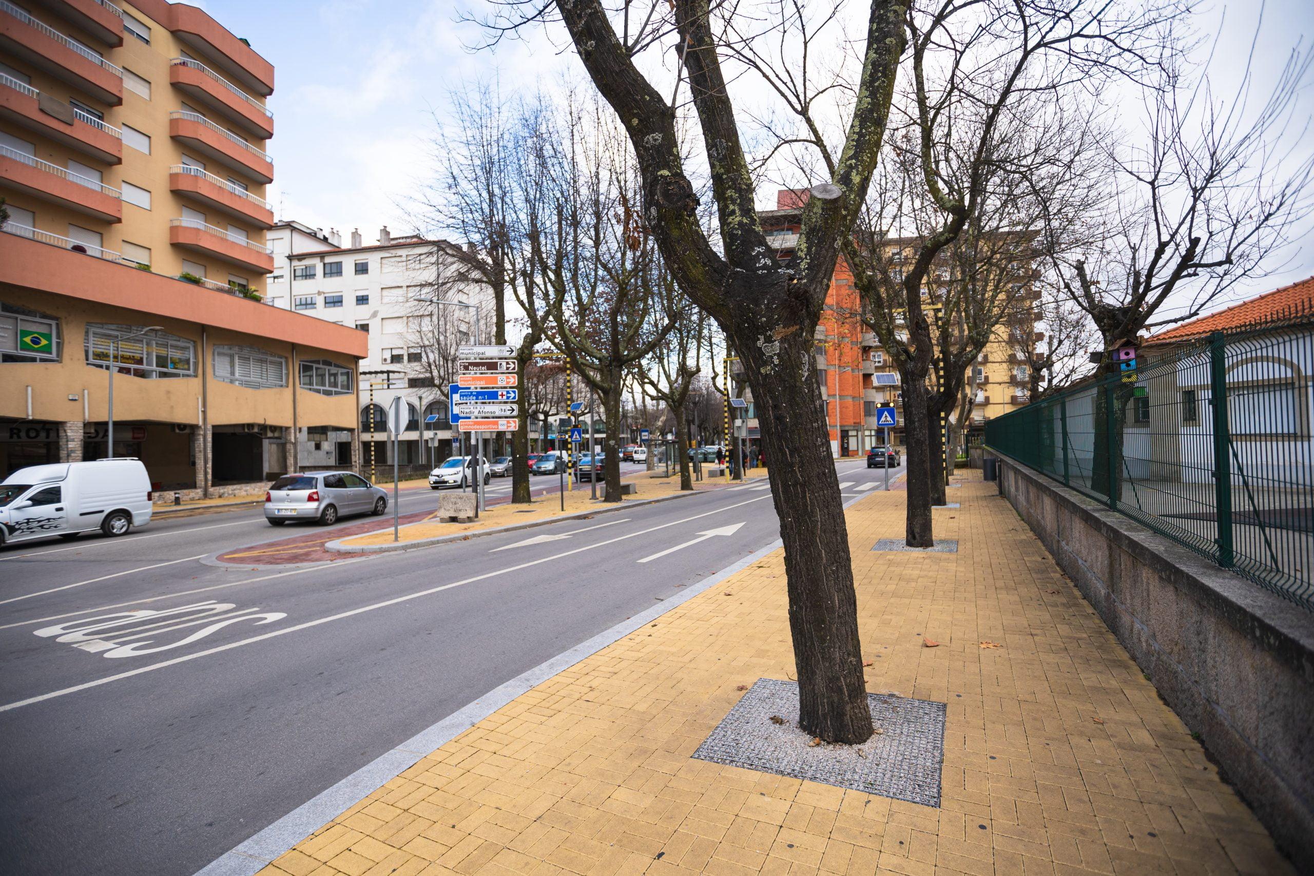 Requalificação da Avenida Nuno Álvares