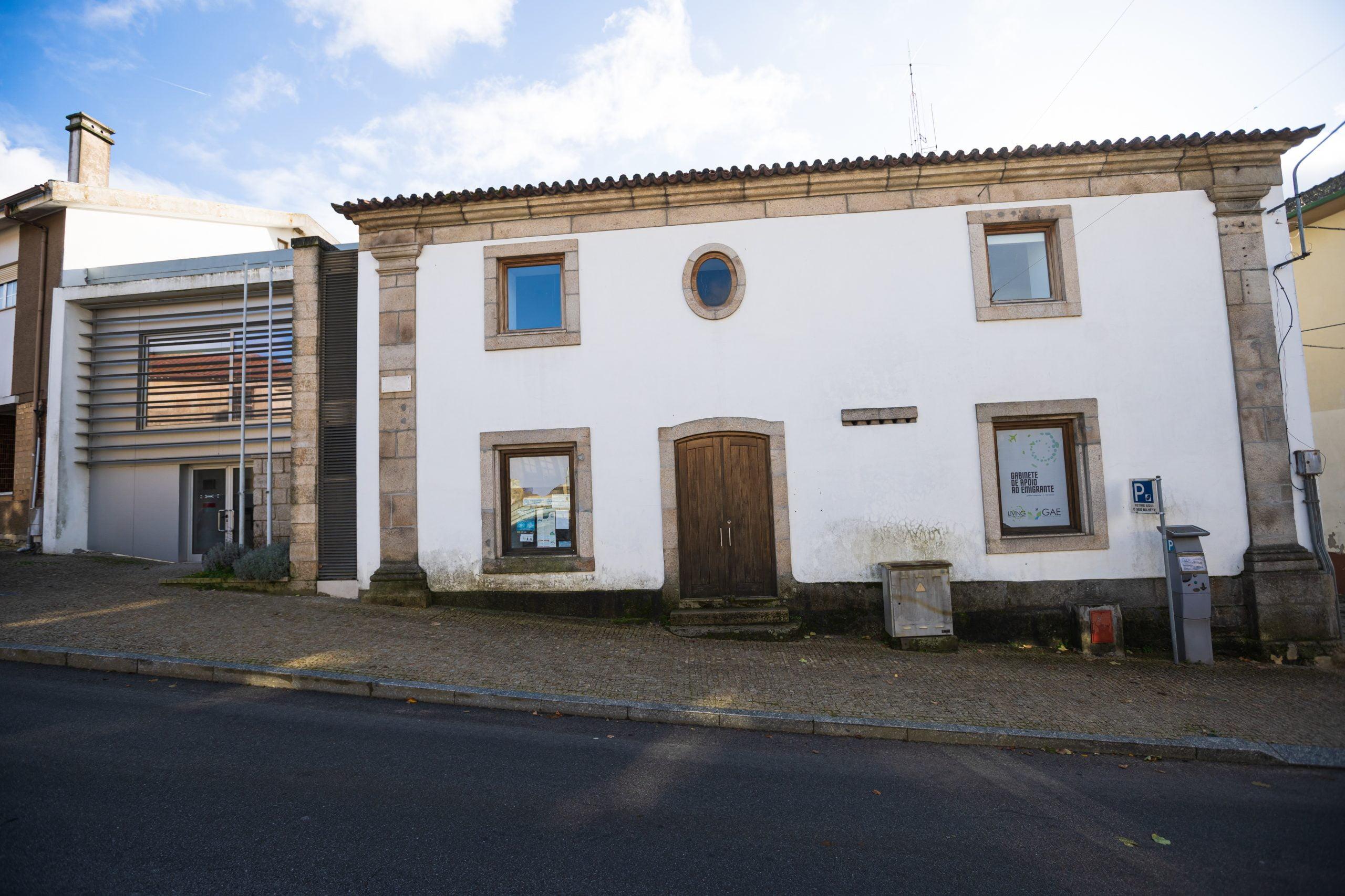 Intervenção no edifico da antiga cadeia municipal